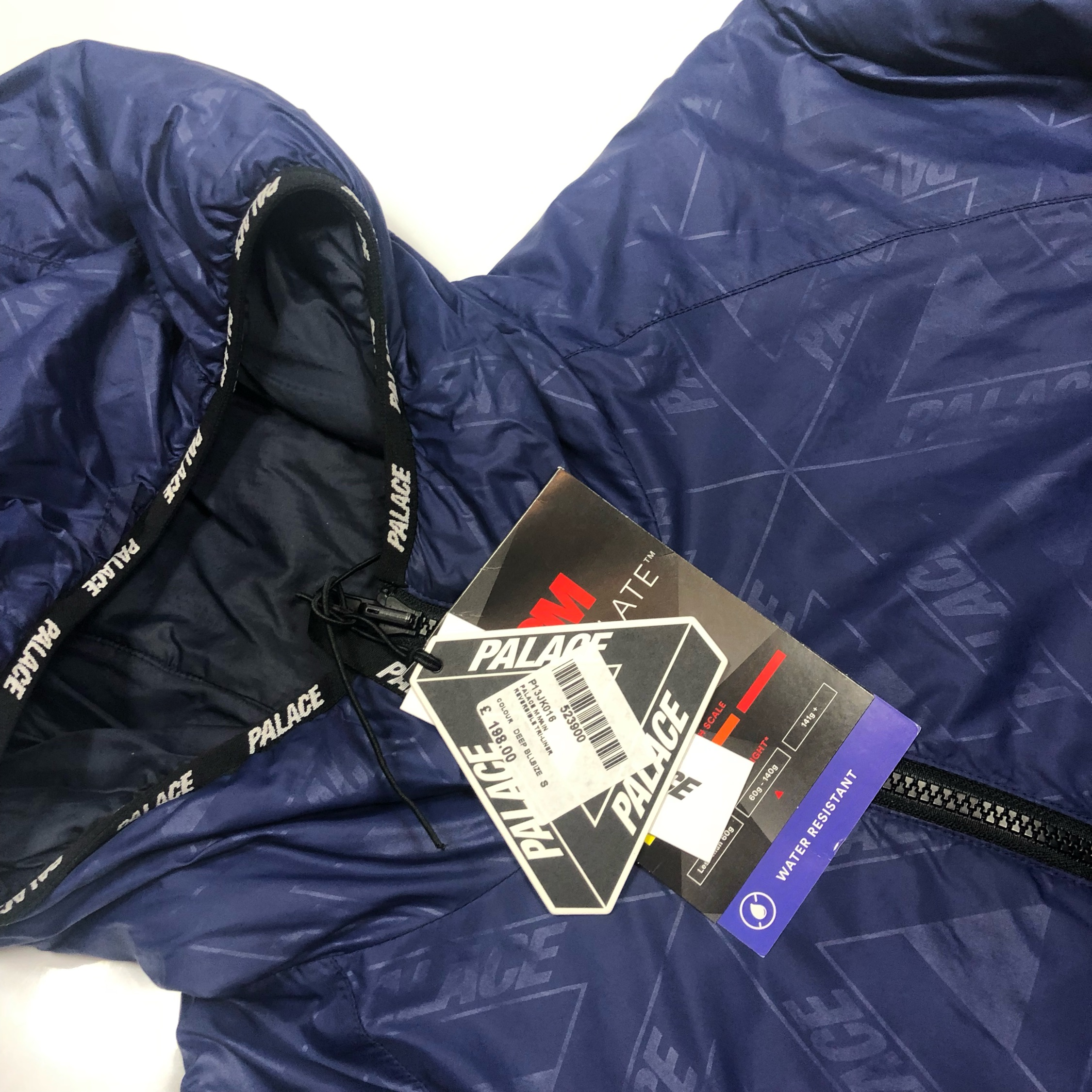 Palace Reversible Tri Liner Puffer Jacket Vnds