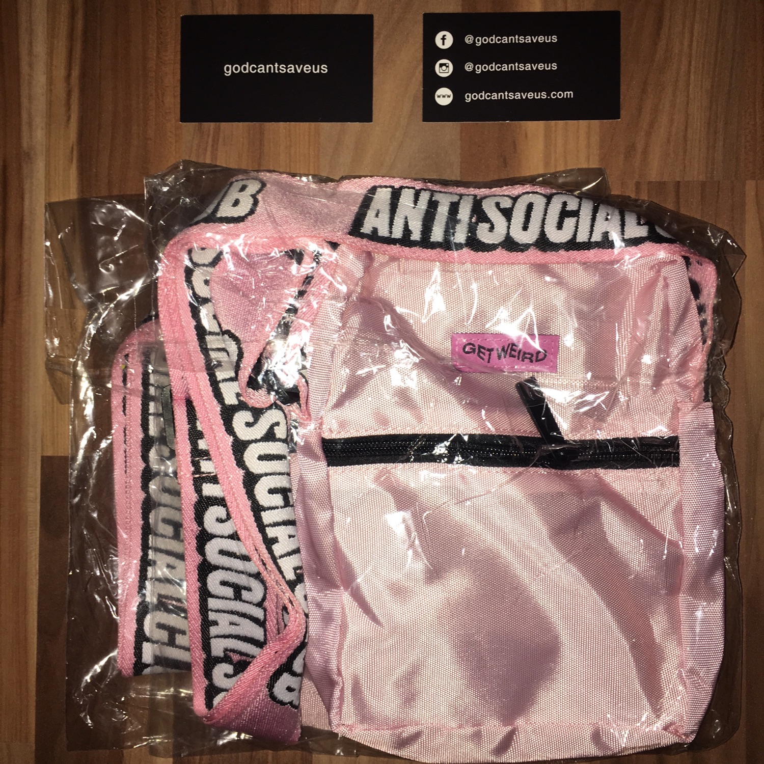 Anti Social Social Club Side Bag