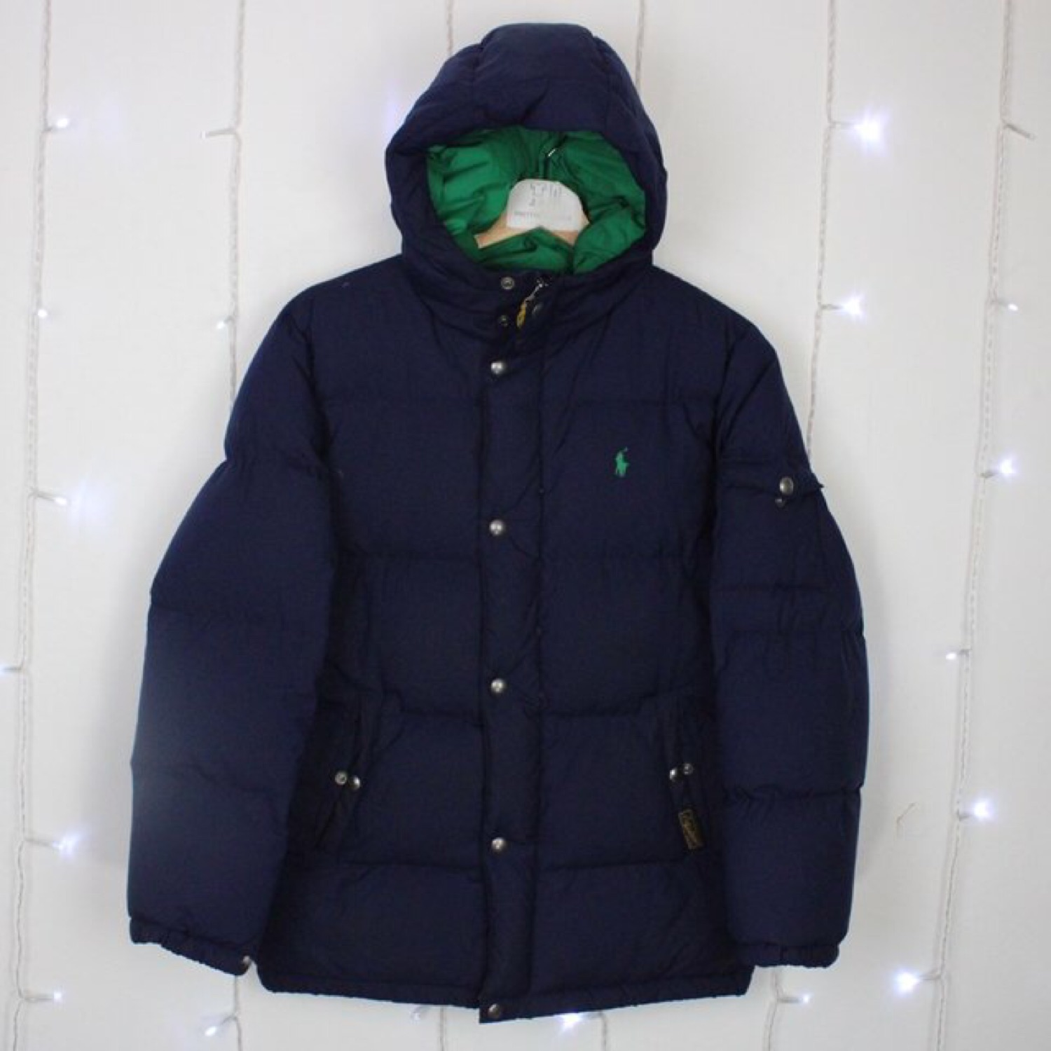 Vintage Polo Ralph Lauren Puffer Jacket Coat