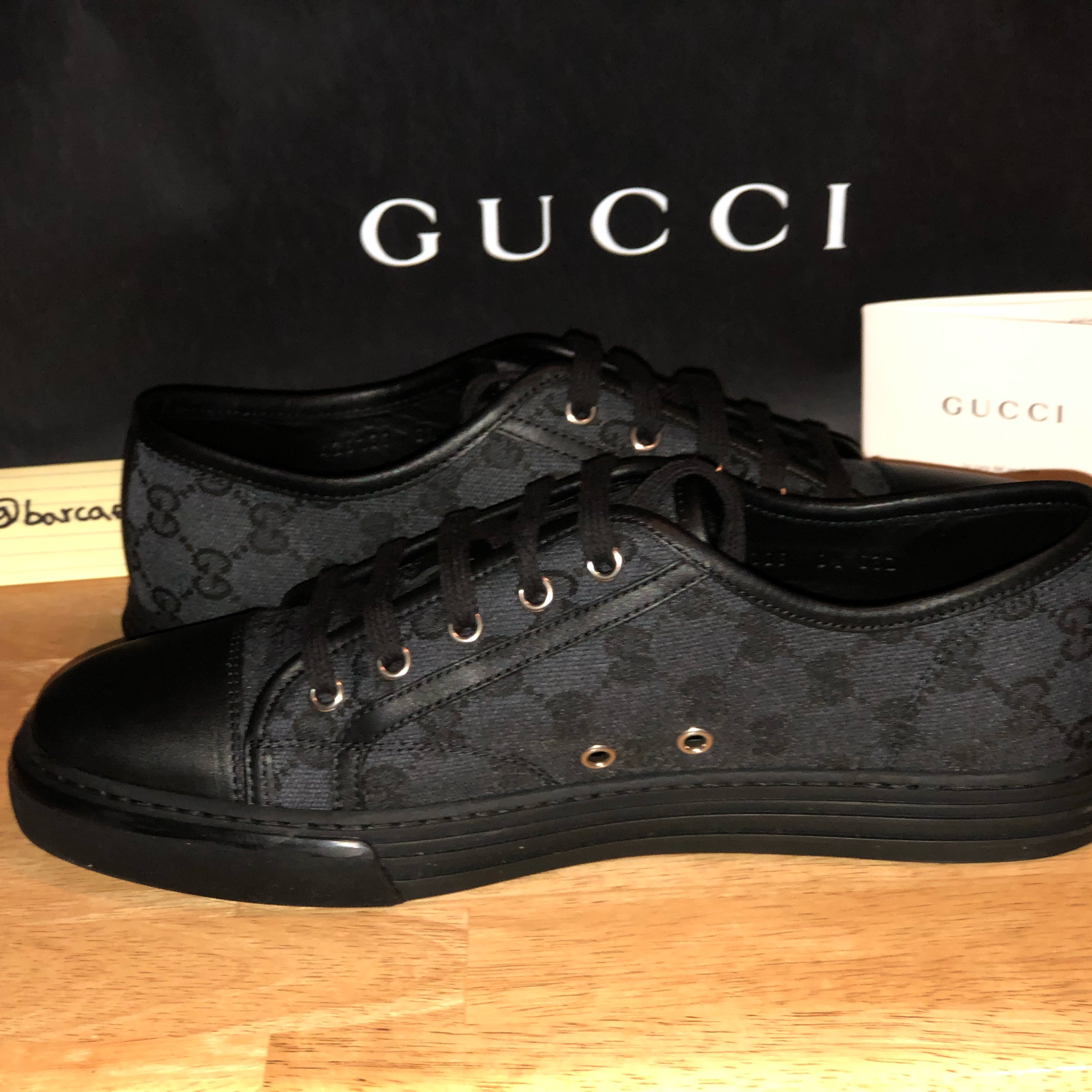 Black Gucci Shoes