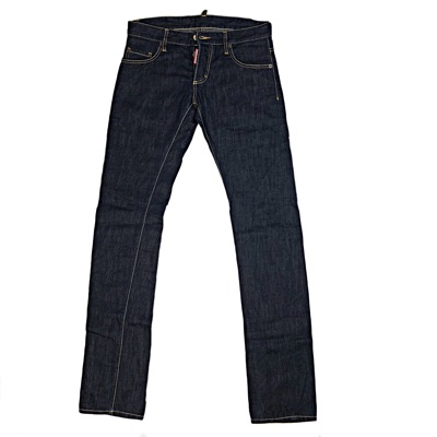 Dsquared2 Dark Denim Men's Plain Jeans
