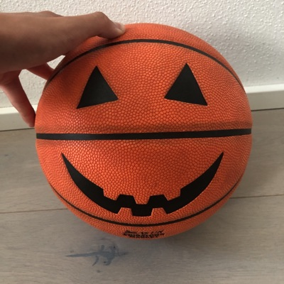 Chinatown X Smiley Jack O Latern Basketball