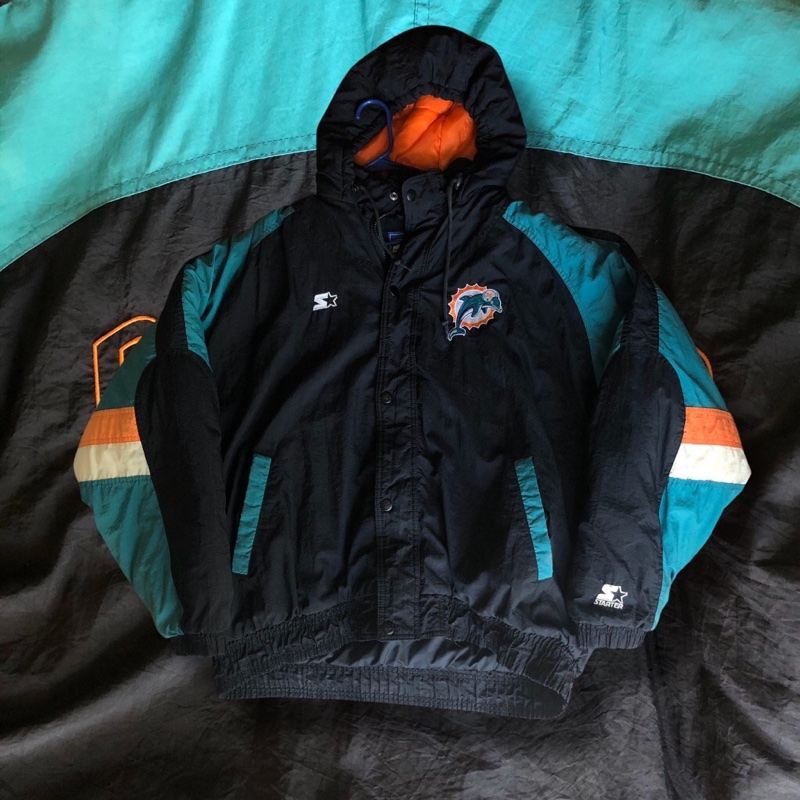 Miami Dolphins 90s started jacket