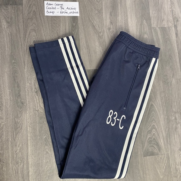 Adidas Originals 83-C Navy Trackpant Bottoms