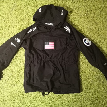 Supreme The North Face Trans Antarctica Expedition Pullover Jacket Black