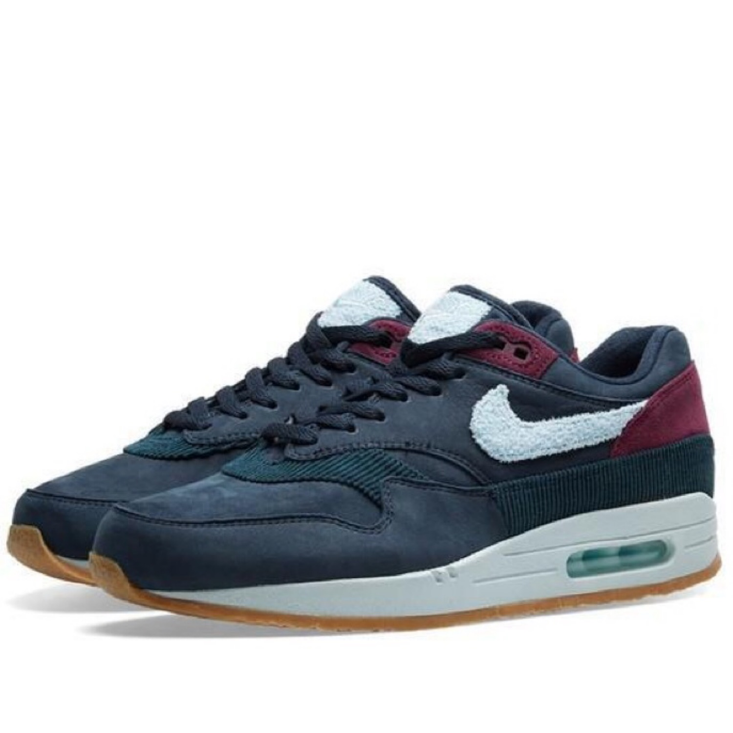 fashion style sale online hot products Nike Air Max 1 Premium Crepe Pack Dark Obsidian