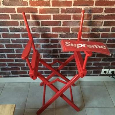 Red Supreme Director's Chair