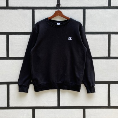 Champion Sweatshirt Small Embroidery Logo