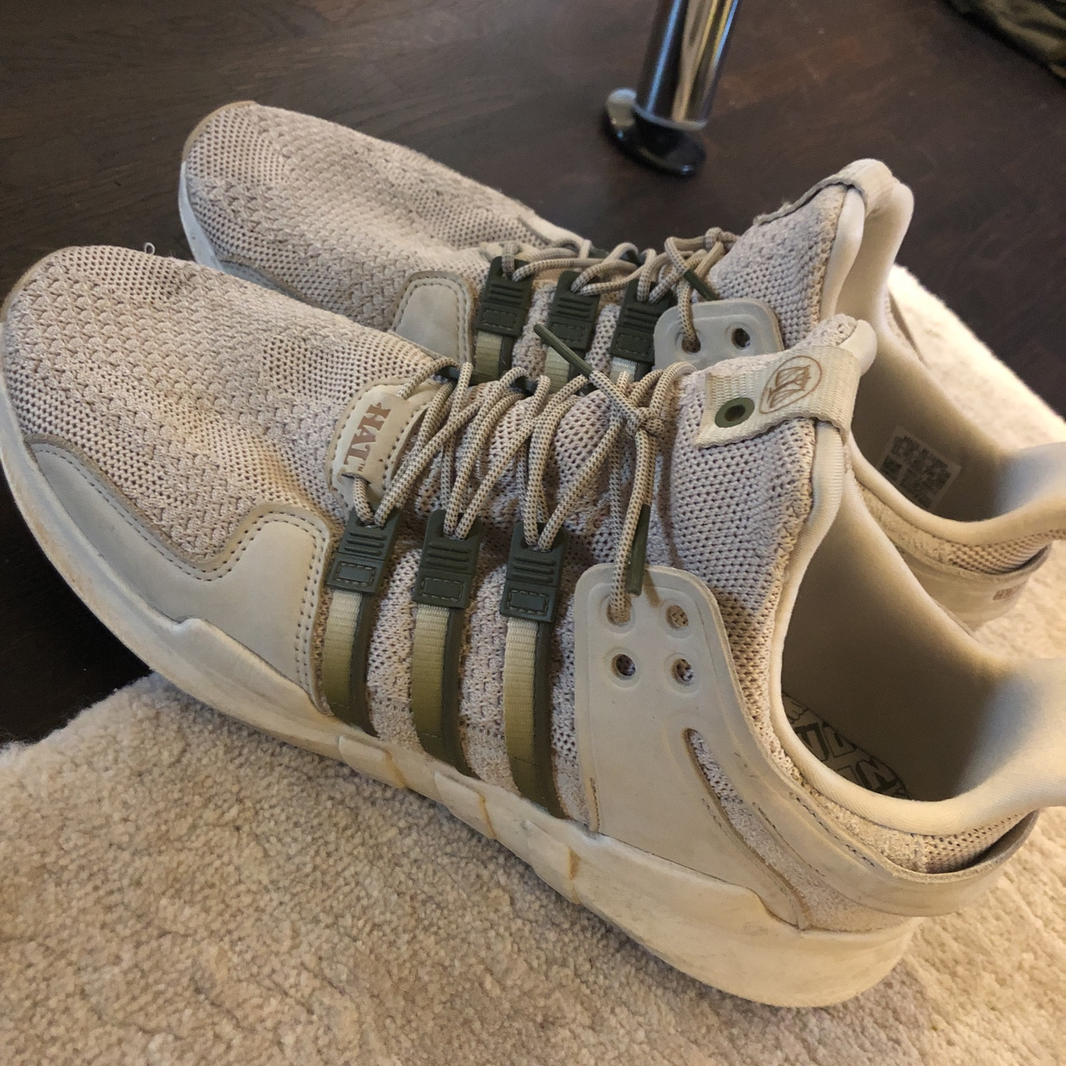 various colors a78f4 d3eae Adidas Eqt Support Adv Hal Eu:45 1/3 Us: 11
