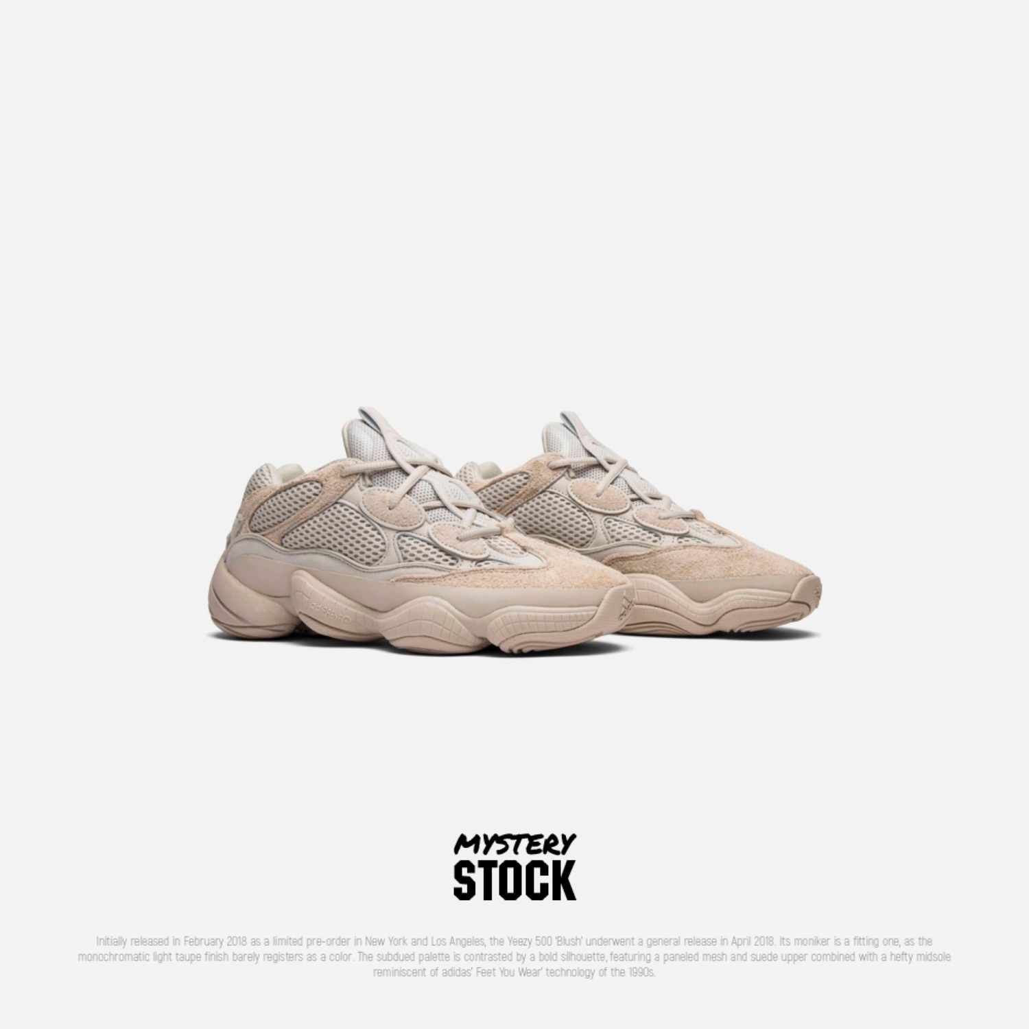 various colors dbc31 14e85 Adidas Yeezy Boost 700 Blush