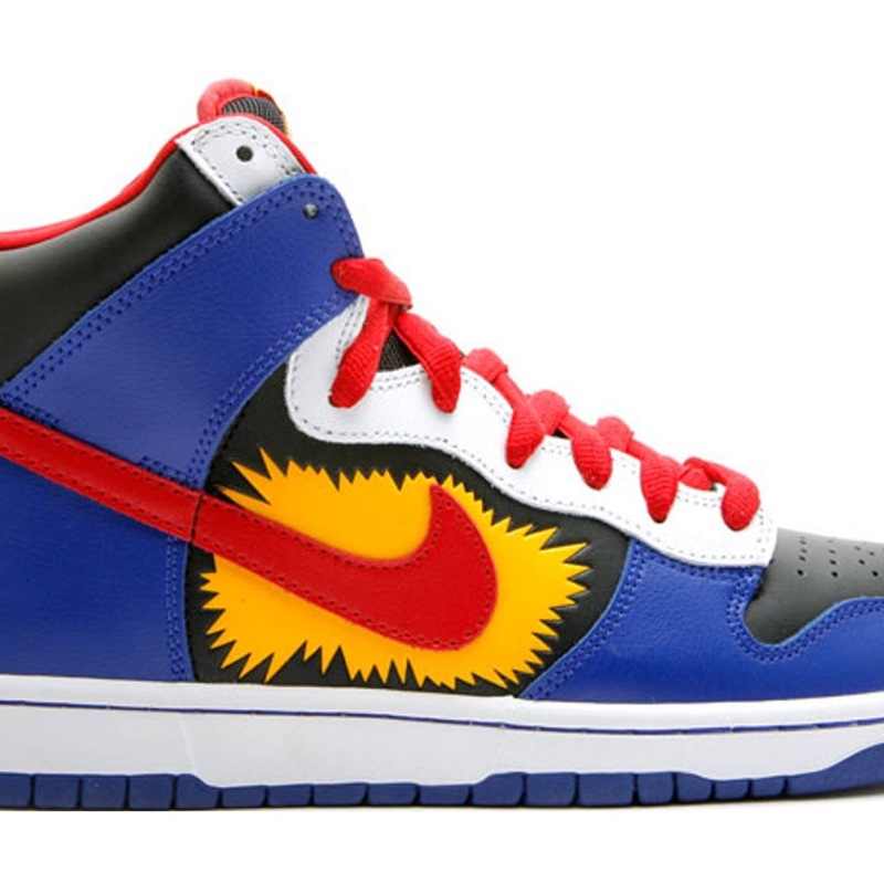 Nike SB Dunk High Comic