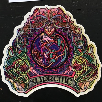 Supreme Knots Sticker