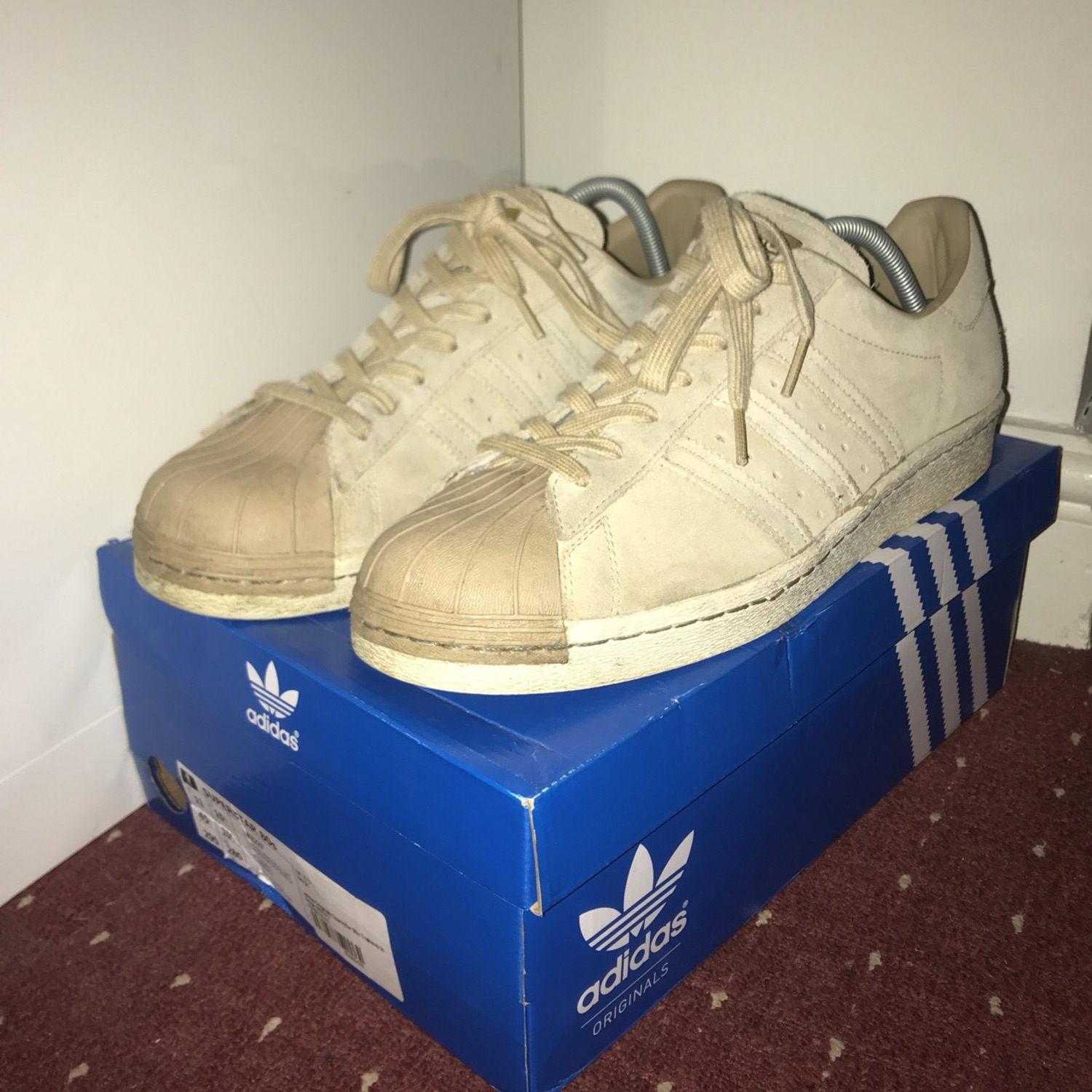 adidas 80s superstar beige