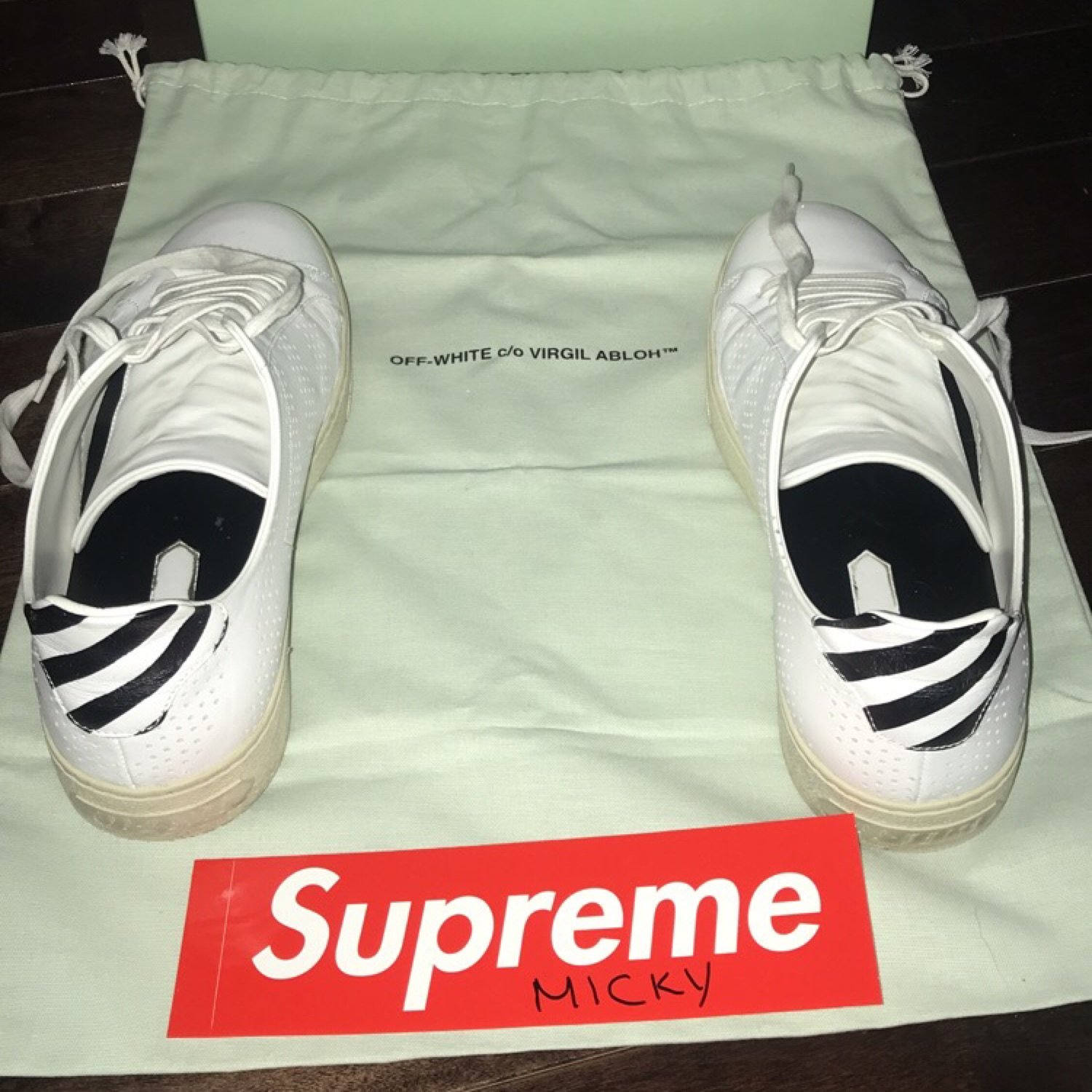 Off-White Shoes (Blue Collar)
