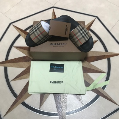 Burberry Sliders