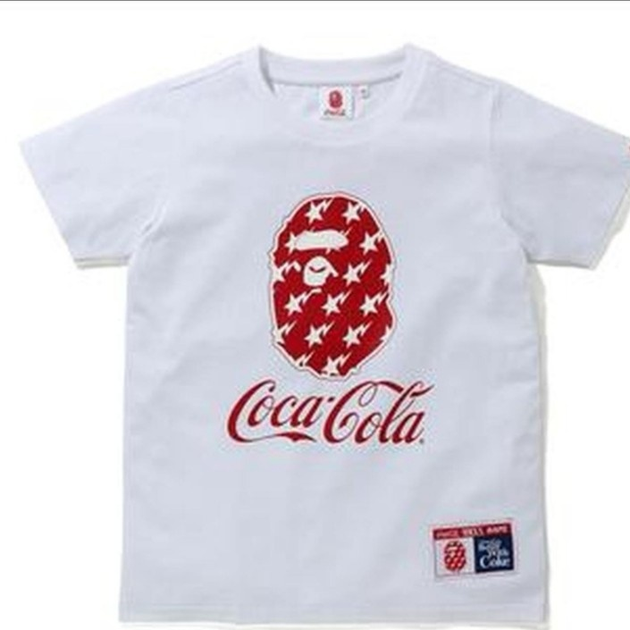Bape X Coca Cola Tee ,plus Free  Face Mask Case