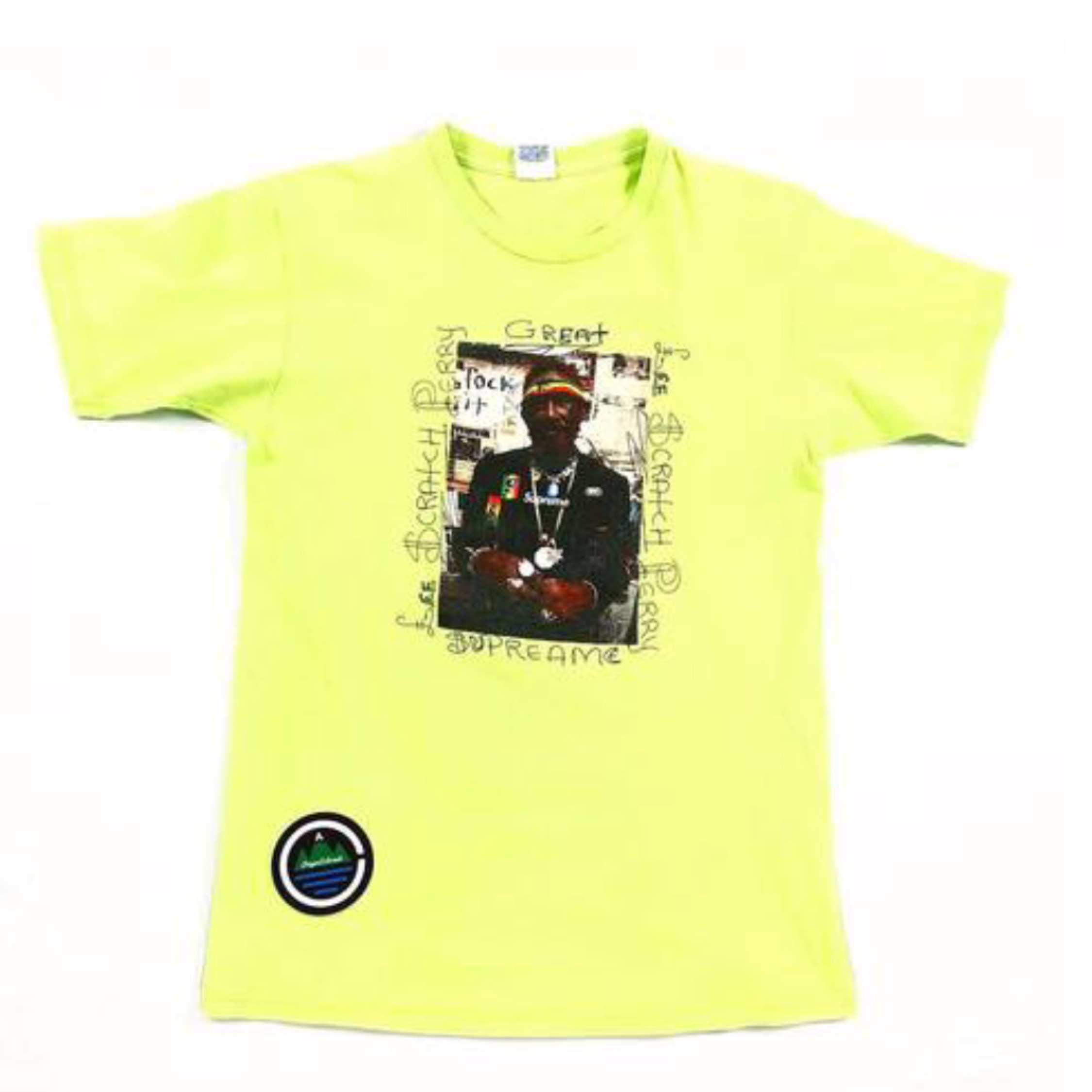 Supreme Scratch Lee Perry T Shirt 2010 Green