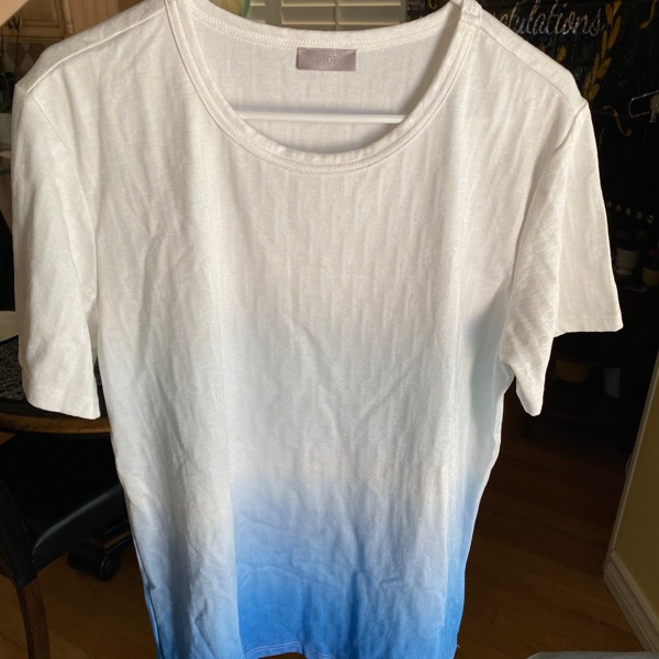 Dior Degrade Oblique Tee
