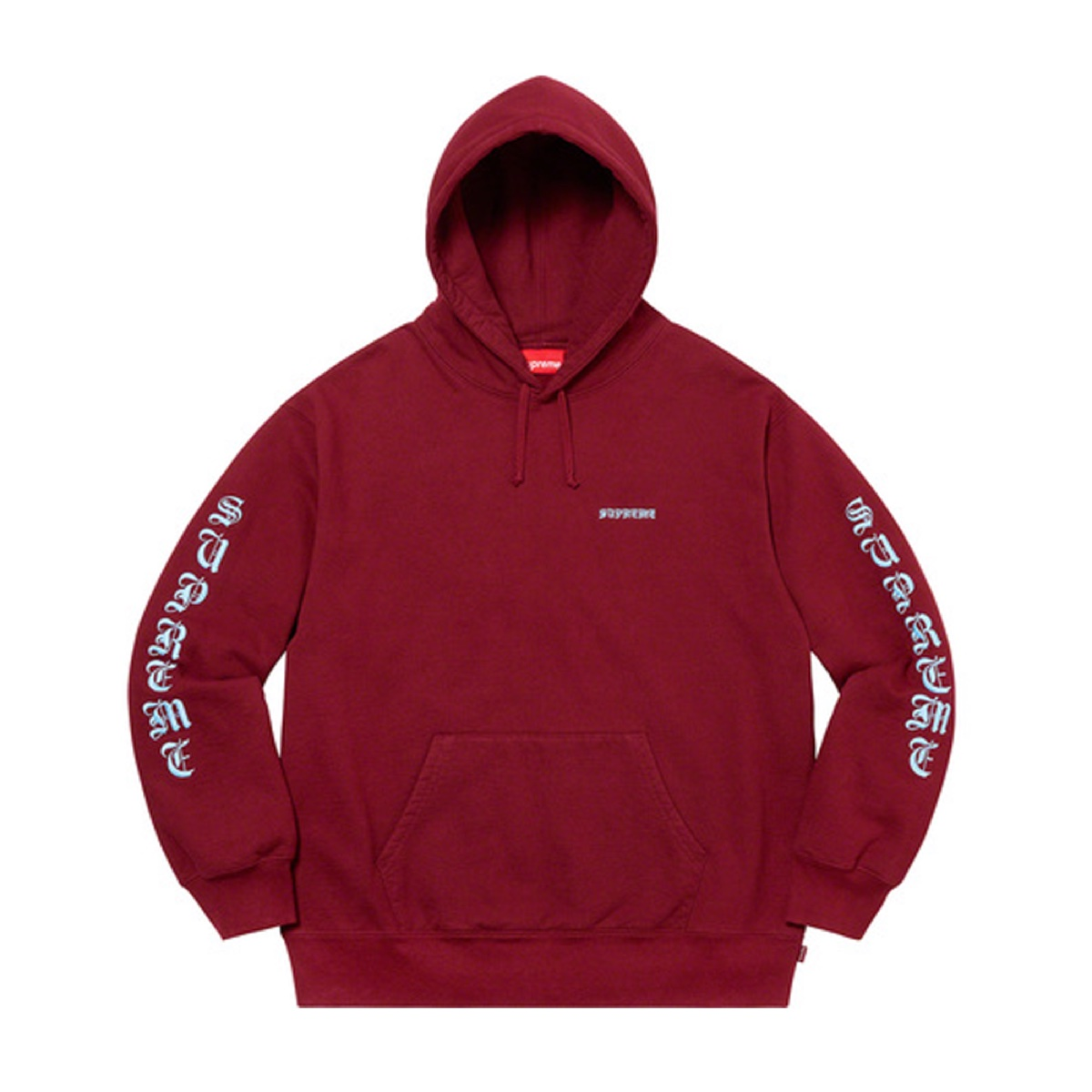 Supreme Peace Hooded Sweatshirt Cardinal