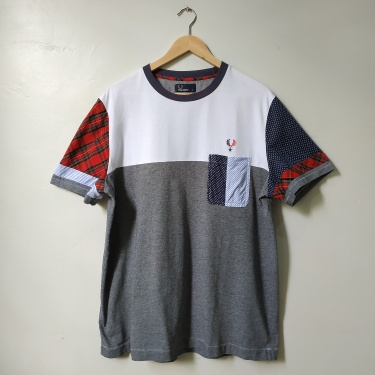Fred Perry X Izzue Patchwork T Shirt Spring/Summer 2013
