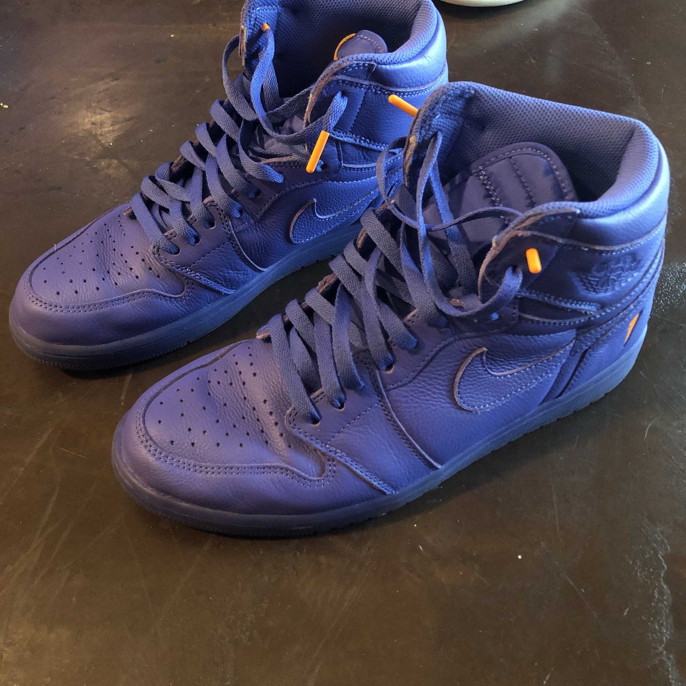 best sneakers 7f65a 7a76a Gatorade Grape 1S Us11 And Bordeaux 12S Us11