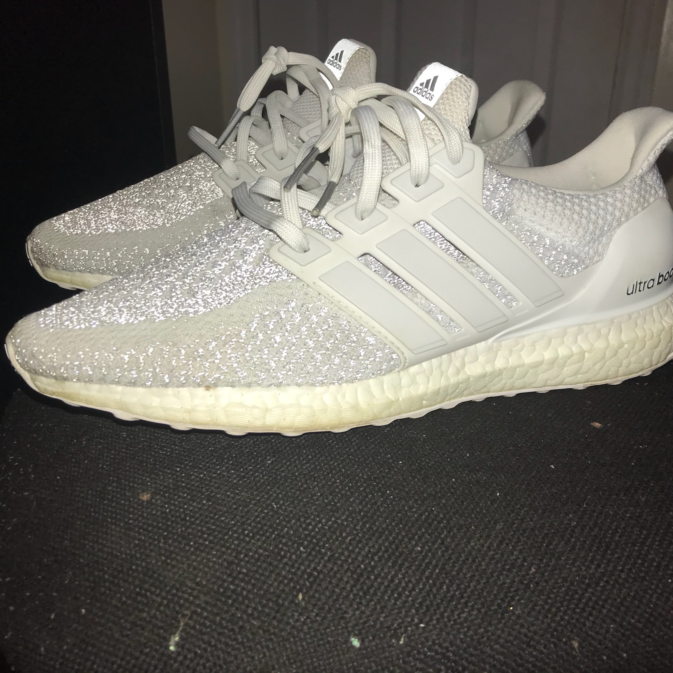 b33f9b01d3c Ultra Boost 2.0 Triple White Reflective