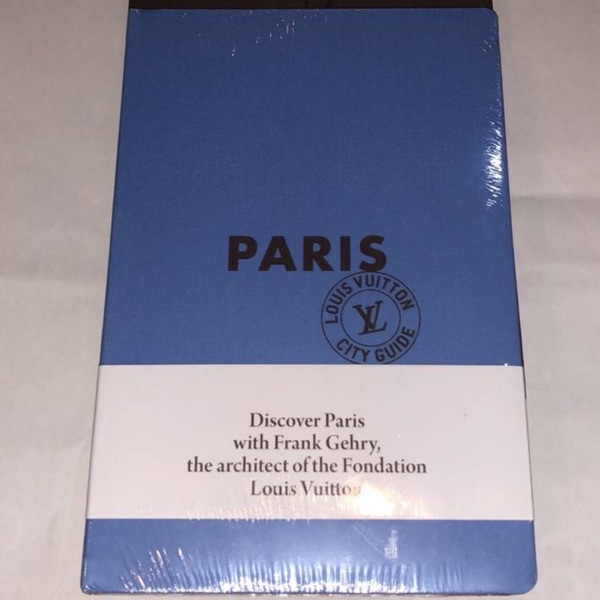 Louis Vuitton Paris Travel Guide And Stickers