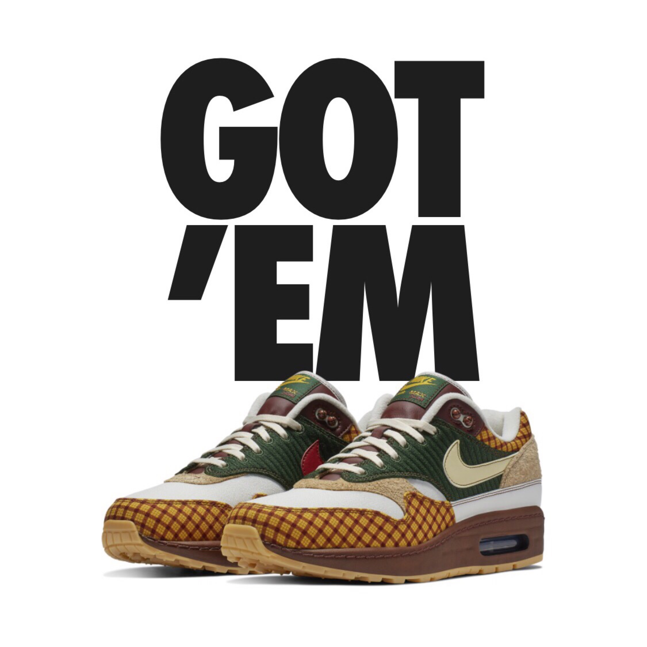 the latest 9c14b 023d9 Nike Air Max 1 Susan Missing Link
