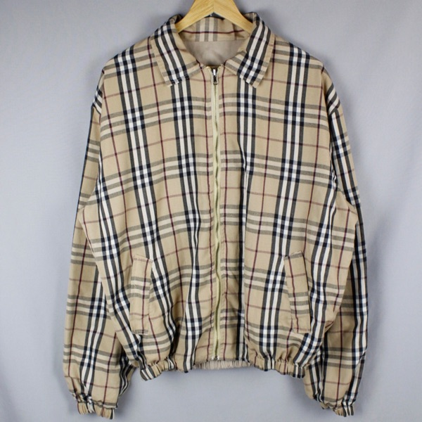 Burberry Reversible Nova Check & Logo Jacket