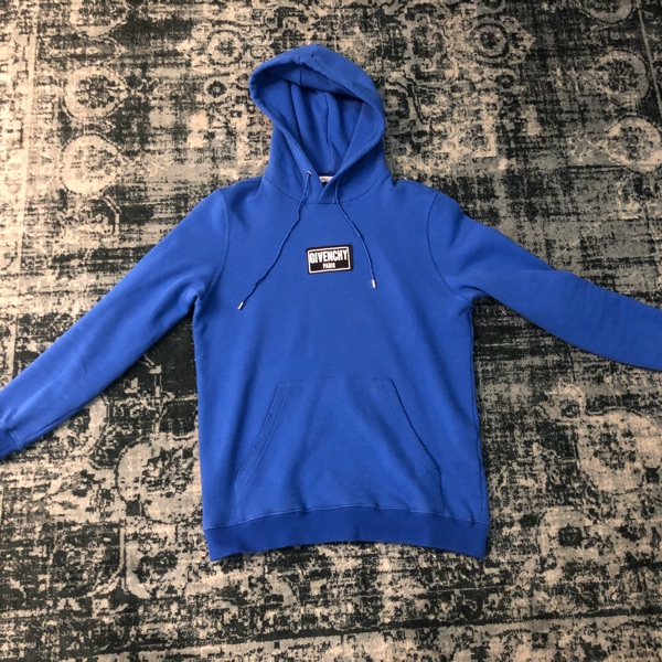 Givenchy Hoodie Steal Patch Blue