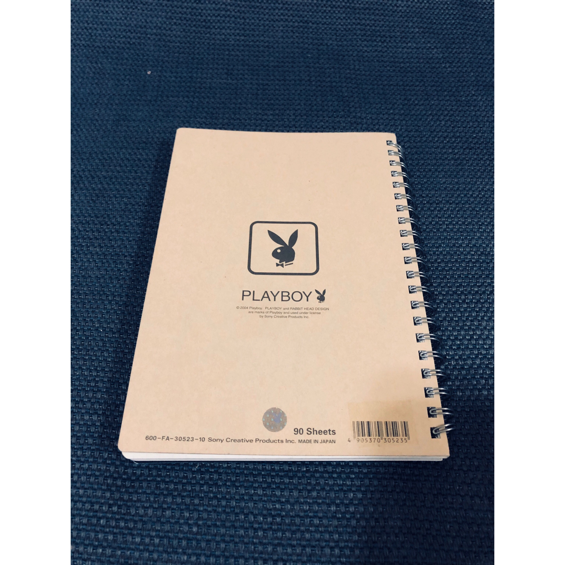 Playboi Playboy Logo Notebook
