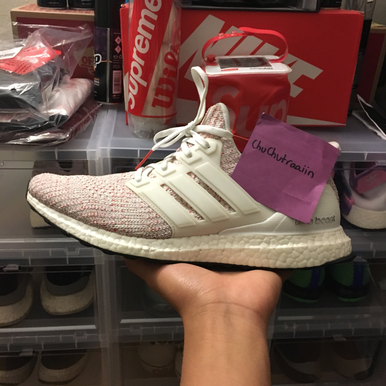 best sneakers 28d46 cddbd Adidas Ultraboost 4.0 Candy Cane