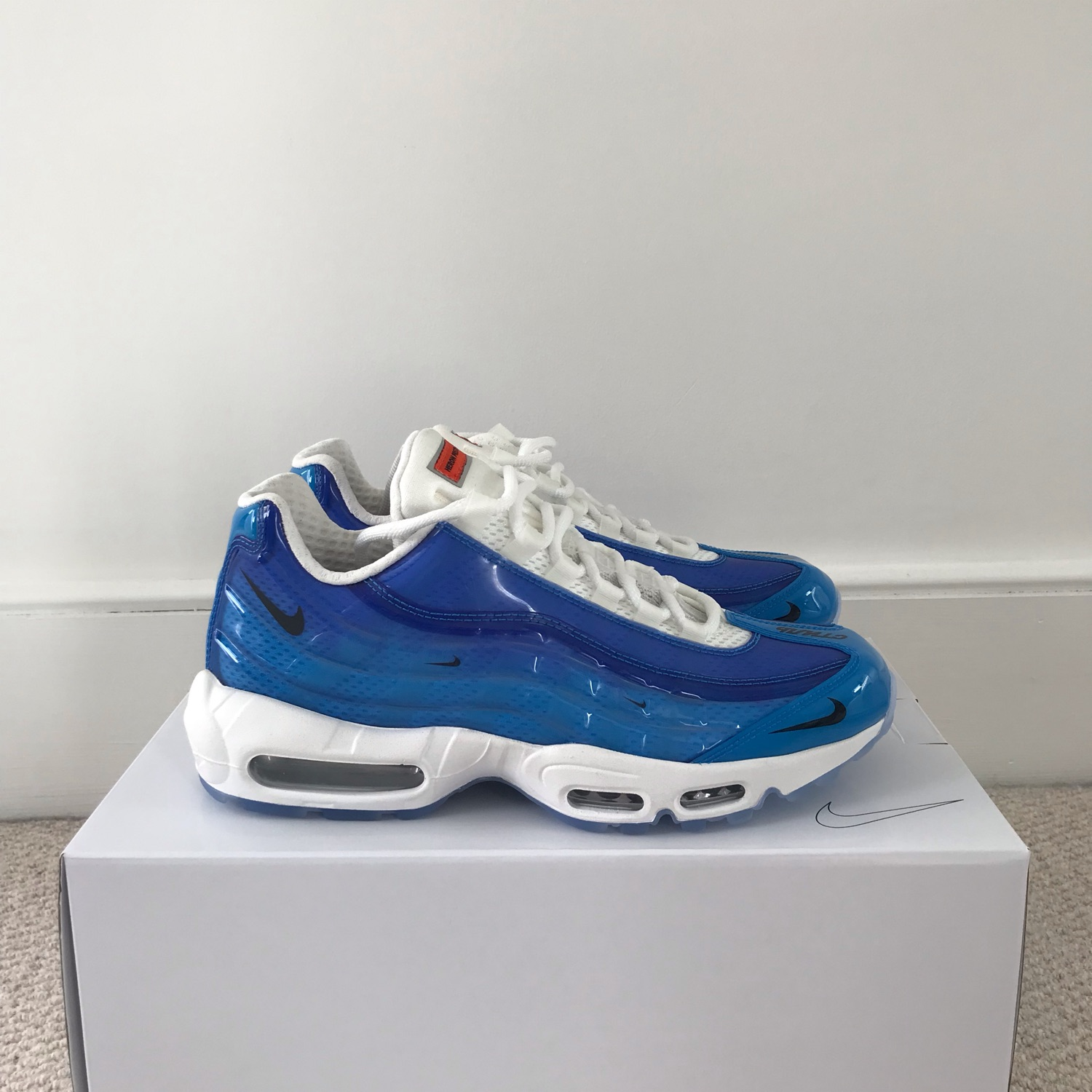 huge selection of bc9d4 a7d91 Heron Preston X Nike By You Air Max 95