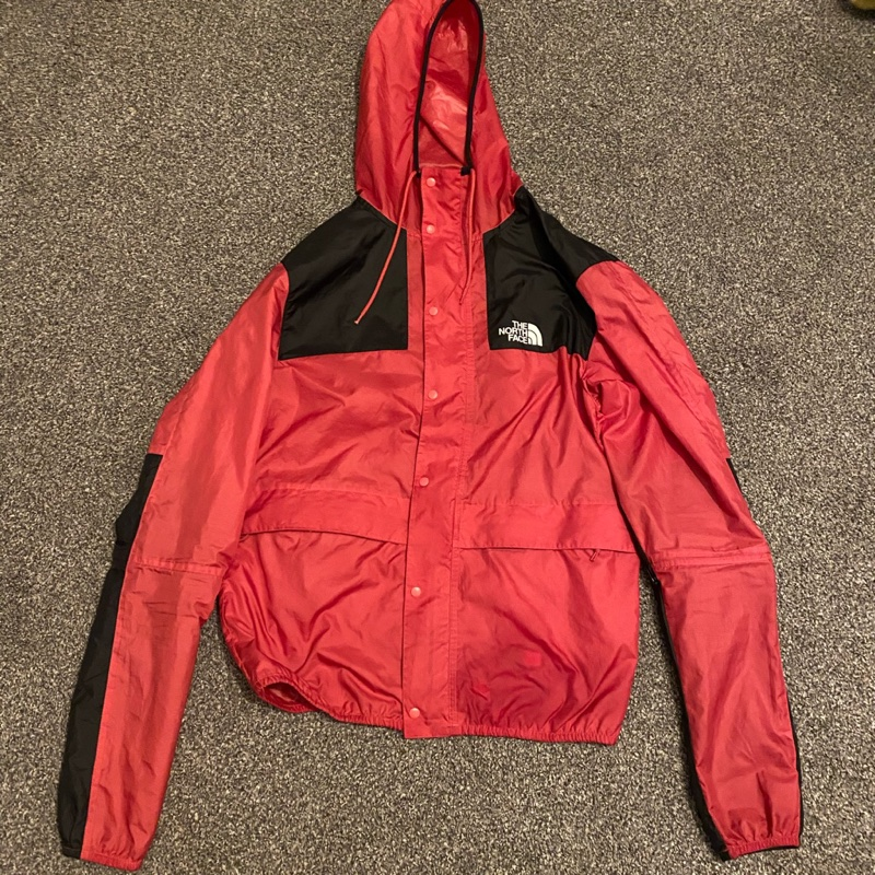 North face coat pink