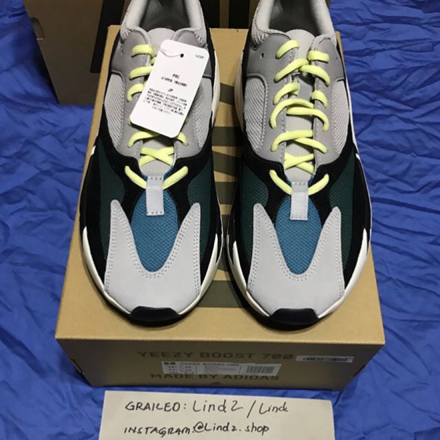 pretty nice 05d53 62d86 Adidas Yeezy Boost 700 Wave Runners