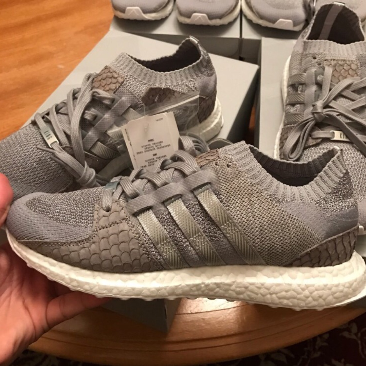 new photos 6937e 40e57 Adidas EQT Support X Pusha T Ultra Boost