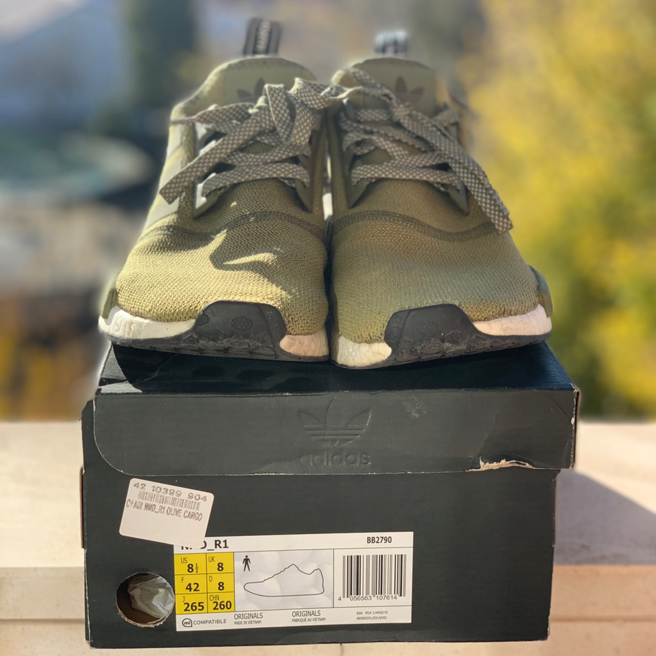 sports shoes 850fc 04ae4 Adidas Nmd Olive Green