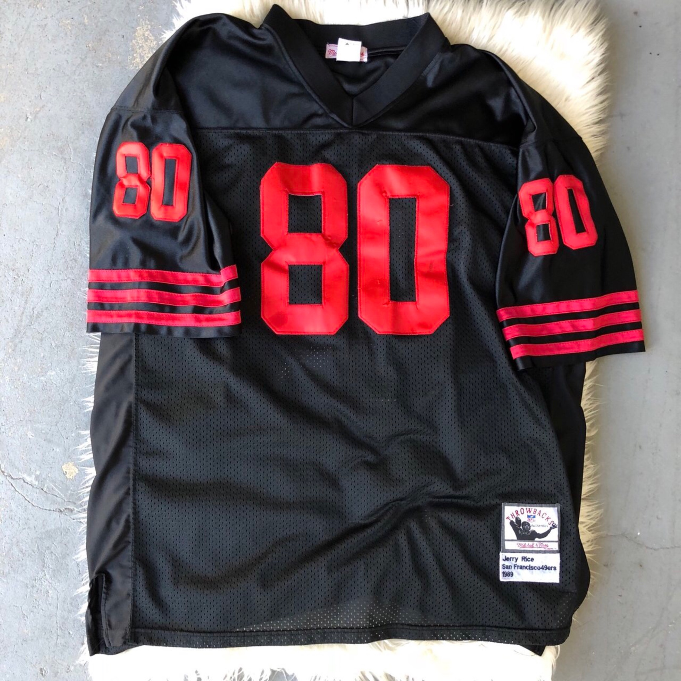 the best attitude beb9a 6558a Official Mitchell & Nes San Francisco 49Ers Jersey
