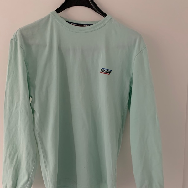 Palace Basically A Longsleeve (SS18) Duck Egg Blue