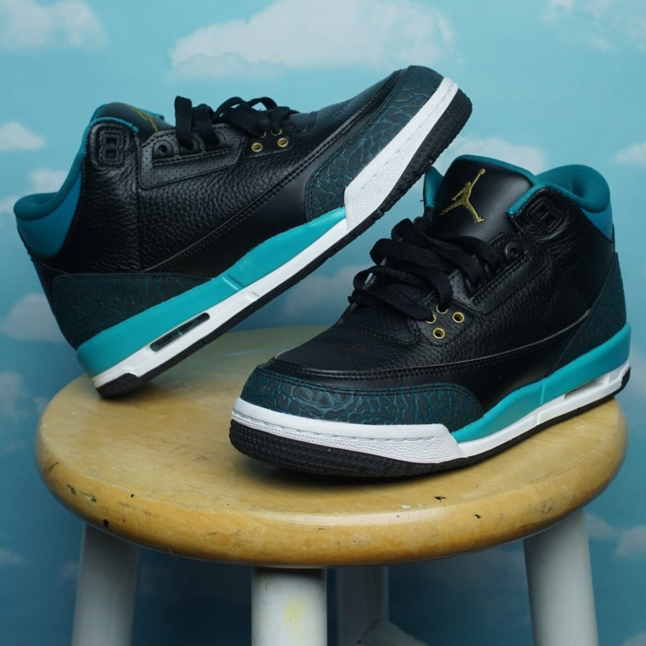 brand new 02260 410bf Air Jordan 3 Retro Rio Teal
