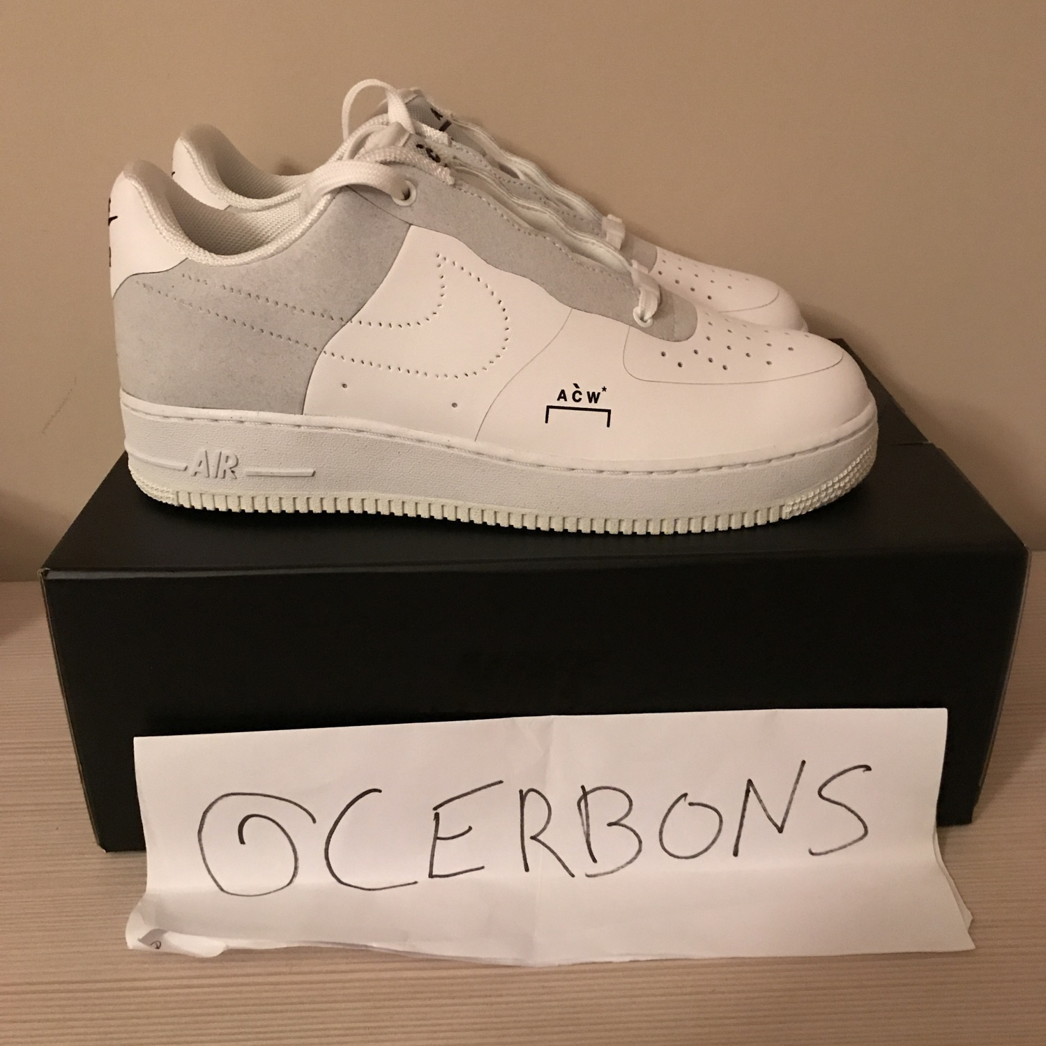 new product 2c780 098bd Nike X Acw Air Force 1 Low White Off White Yeezy