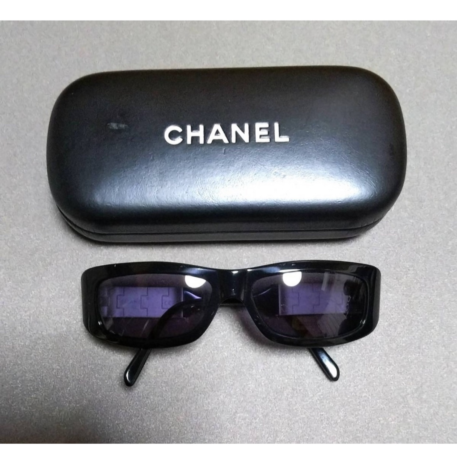 Chanel Silver Logo 3135 94305 Sunglasses