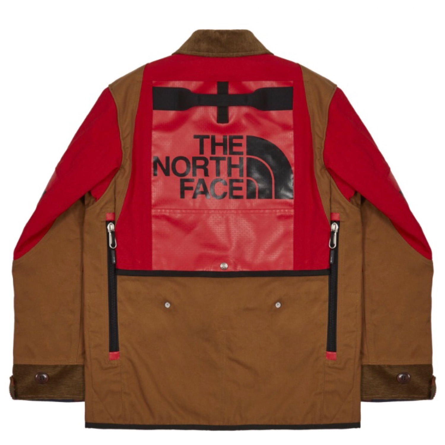 088a42ec2 Junya Watanabe X The North Face Remake Duffel Coat