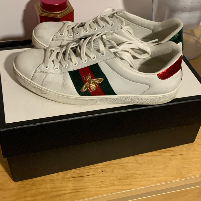 Gucci Ace Embroidered Bee