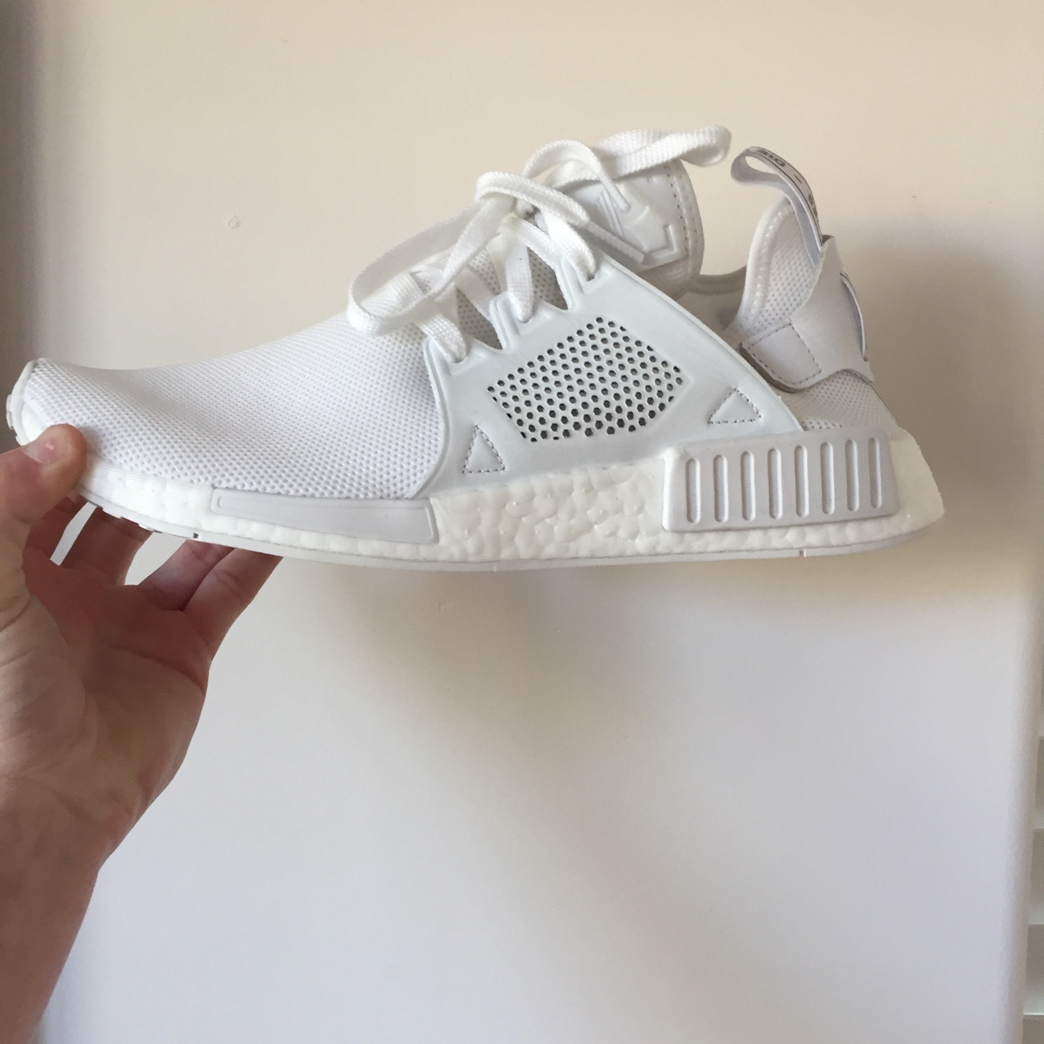 separation shoes 4e59d 0a7e4 Adidas Nmd Xr1 Triple White Under Retail