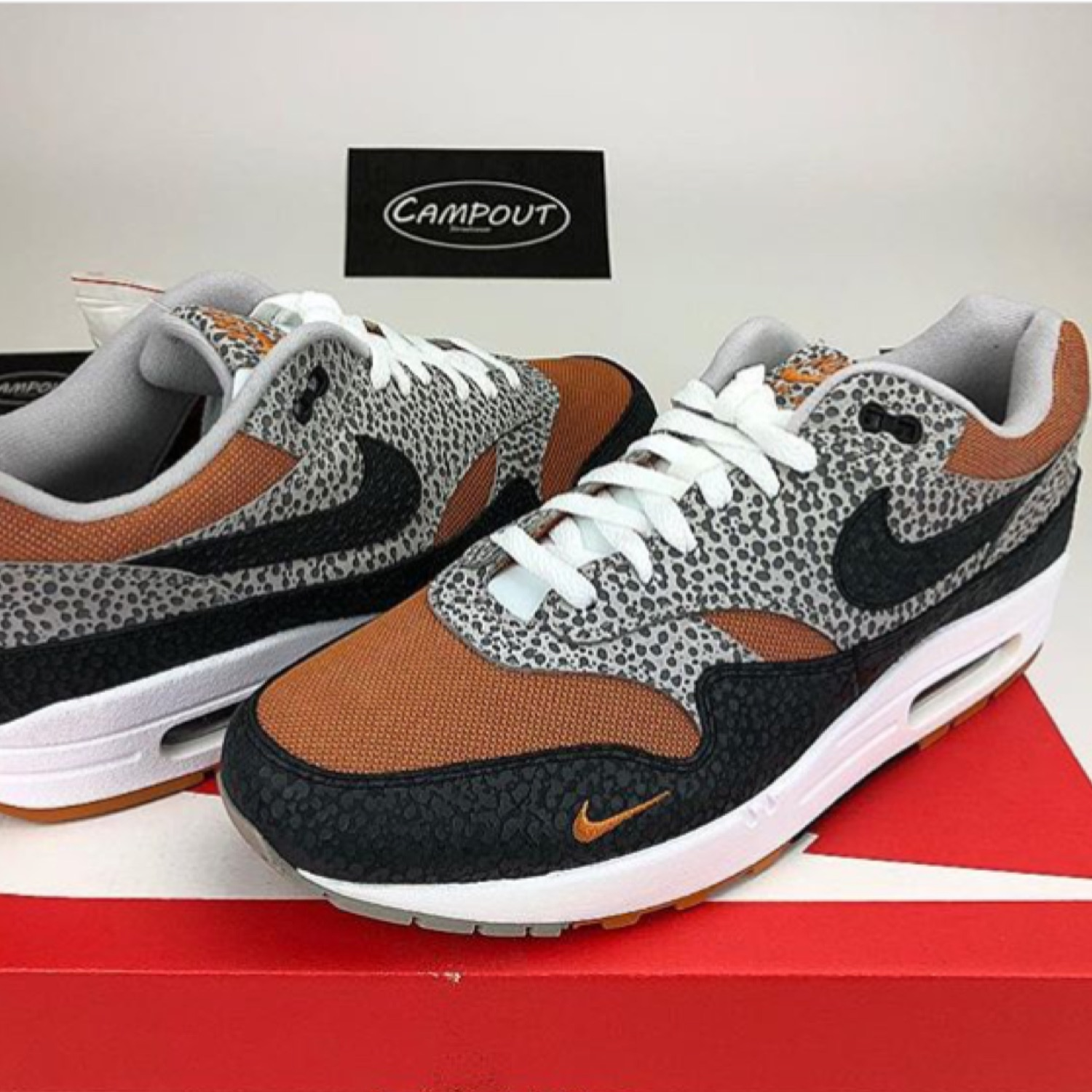outlet store ba776 f54ee Nike Air Max 1 Safari (Size? Exclusive)