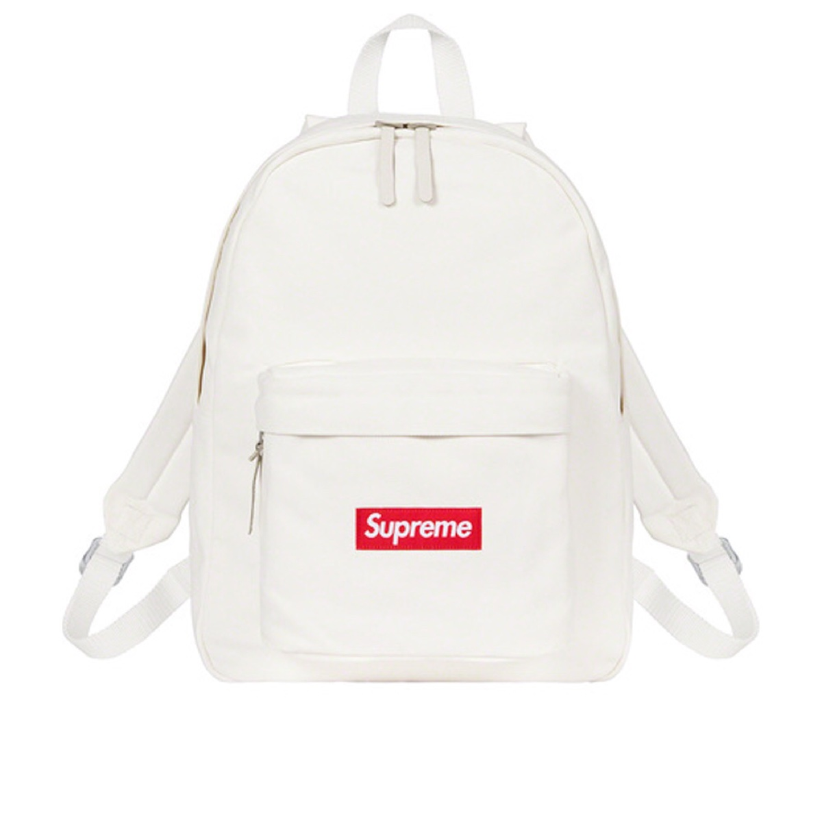 Supreme Canvas Backpack White