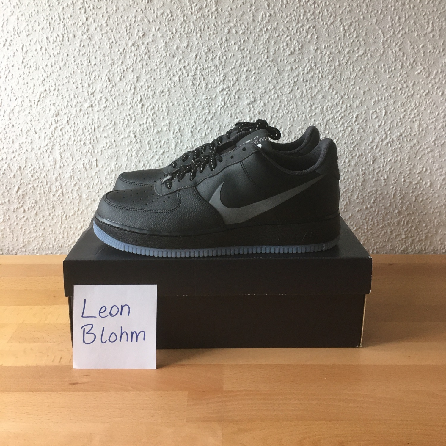 Nike Air Force 1 Low 07 Lv8 Black Anthracite
