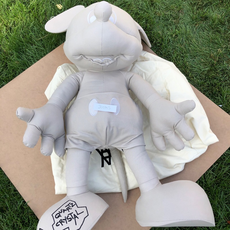 Daniel Arsham Mickey Plush Large