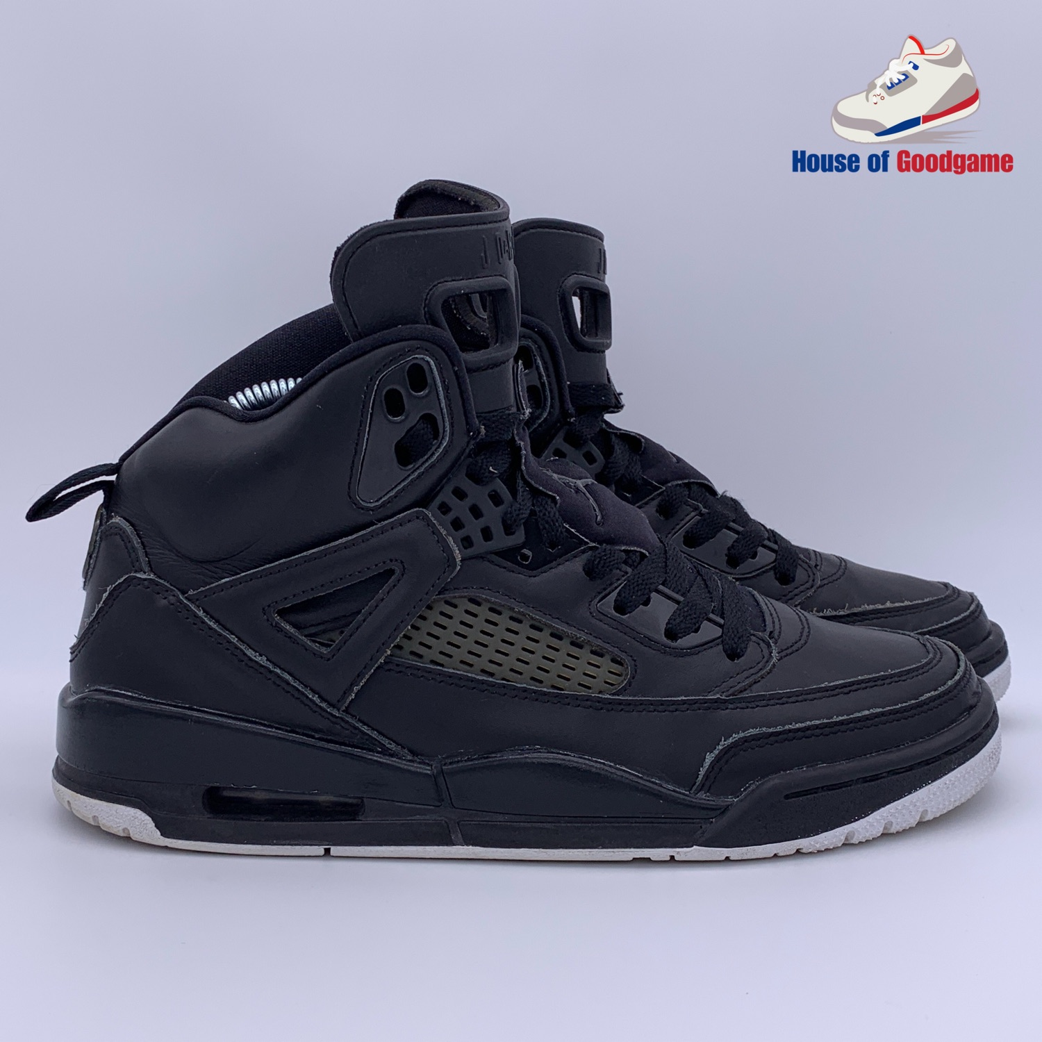 first rate 32a92 46fe0 Nike Air Jordan 4 Spizike Black